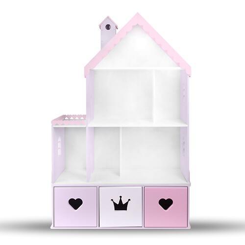 Кукольный домик PeMa kids Стефания Лилово-Розовый (6)