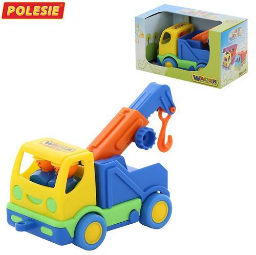 Автомобиль-эвакуатор Полесье Мой первый грузовик в коробке (4)