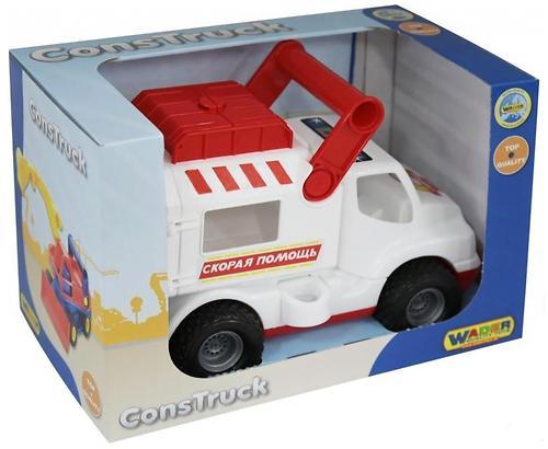 Автомобиль Полесье КонсТрак-скорая помощь (4)