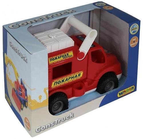 Автомобиль Полесье КонсТрак-Пожарная команда (4)
