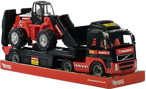 Автомобиль-трейлер+трактор-погрузчик Полесье 204-03 Mammoet Volvo (7)