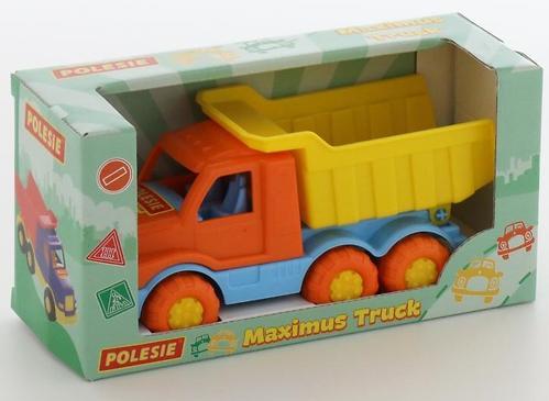 Автомобиль-самосвал Полесье Максик в коробке (5)