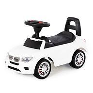 Каталка-автомобиль Полесье SuperCar №5 со звуковыми сигналом Белая