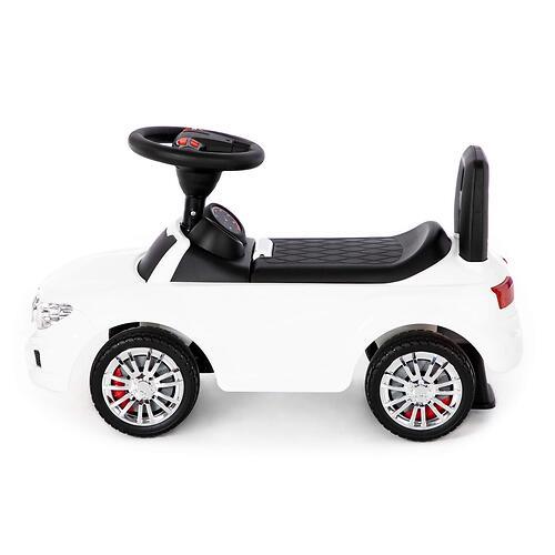 Каталка-автомобиль Полесье SuperCar №5 со звуковыми сигналом Белая (6)