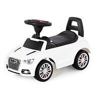 Каталка-автомобиль Полесье SuperCar №2 со звуковыми сигналом Белая