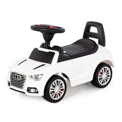 Каталка-автомобиль Полесье SuperCar №2 со звуковыми сигналом Белая (5)