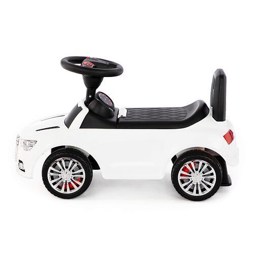 Каталка-автомобиль Полесье SuperCar №2 со звуковыми сигналом Белая (6)