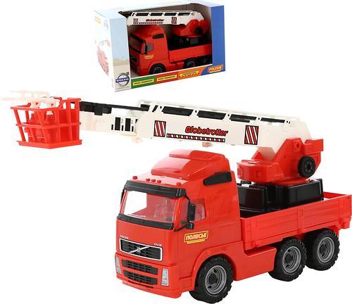 Автомобиль Полесье Volvo пожарный в коробке (1)