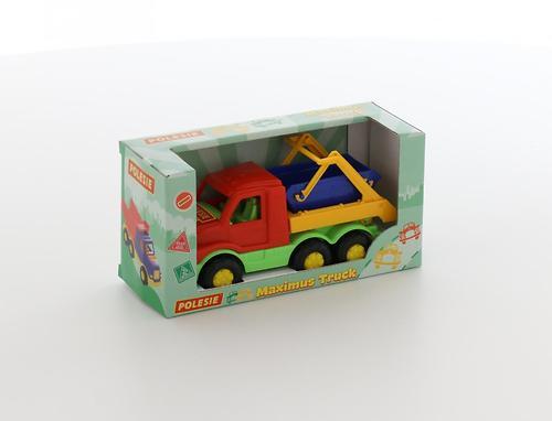 Автомобиль-коммунальная спецмашина Полесье Максик в коробке (6)