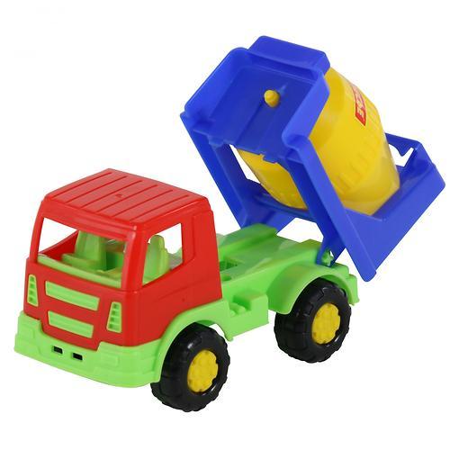 Автомобиль-бетоновоз Полесье Тёма в коробке (10)