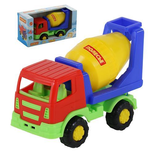 Автомобиль-бетоновоз Полесье Тёма в коробке (7)