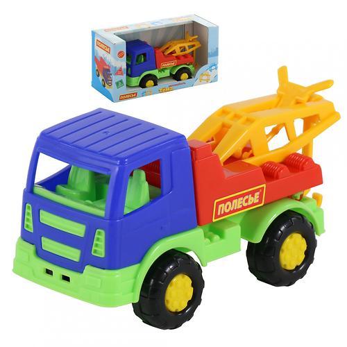 Автомобиль-эвакуатор Полесье Тёма в коробке (7)
