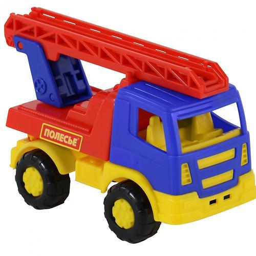 Автомобиль-пожарная спецмашина Полесье Тёма в коробке (7)