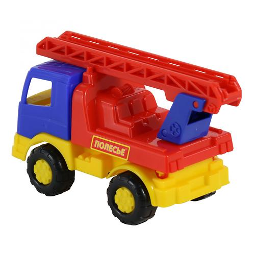 Автомобиль-пожарная спецмашина Полесье Тёма в коробке (8)