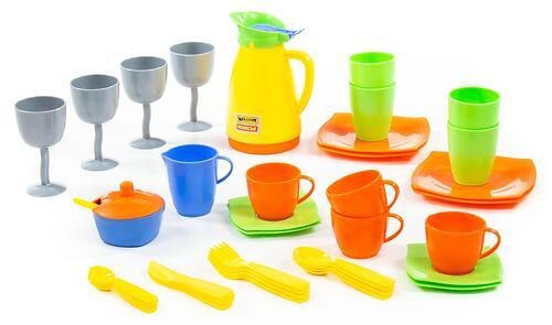 Набор детской посуды Полесье Праздничный (1)