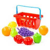 Набор продуктов с корзинкой Полесье №2 9 элементов
