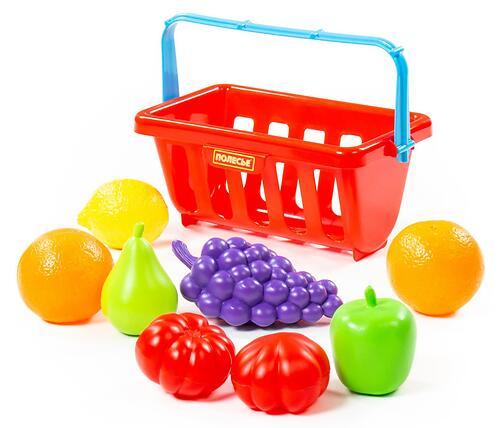 Набор продуктов с корзинкой Полесье №2 9 элементов (4)