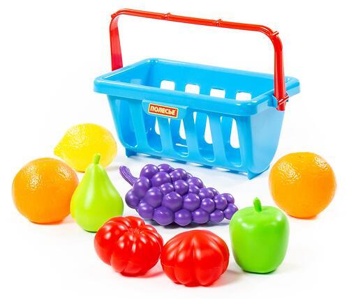 Набор продуктов с корзинкой Полесье №2 9 элементов (5)