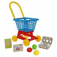 Тележка Полесье Supermarket №1 + набор продуктов №2