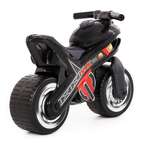 Каталка-мотоцикл Полесье MX Черная (6)