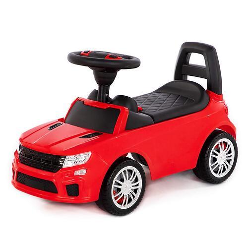 Каталка-автомобиль Полесье SuperCar №6 со звуковыми сигналом Красная (4)