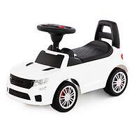 Каталка-автомобиль Полесье SuperCar №6 со звуковыми сигналом Белая