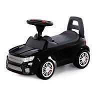 Каталка-автомобиль Полесье SuperCar №6 со звуковыми сигналом Черная