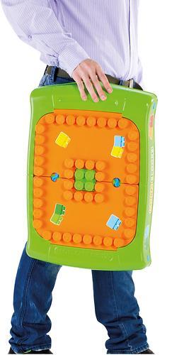 Набор Полесье игровой с конструктором (20 элементов) в коробке (зелёный) (13)