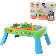 Набор Полесье игровой с конструктором (20 элементов) в коробке (зелёный)