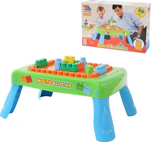 Набор Полесье игровой с конструктором (20 элементов) в коробке (зелёный) (10)