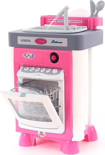 Набор Полесье Carmen №3 с посудомоечной машиной и мойкой (6)