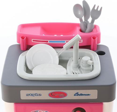 Набор Полесье Carmen №3 с посудомоечной машиной и мойкой (8)
