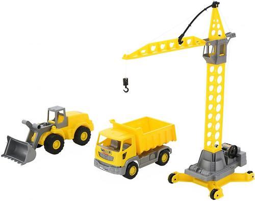 Набор Полесье строительной техники Агат (3)