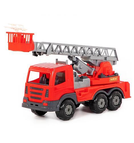 Автомобиль пожарный Полесье Престиж в коробке (5)