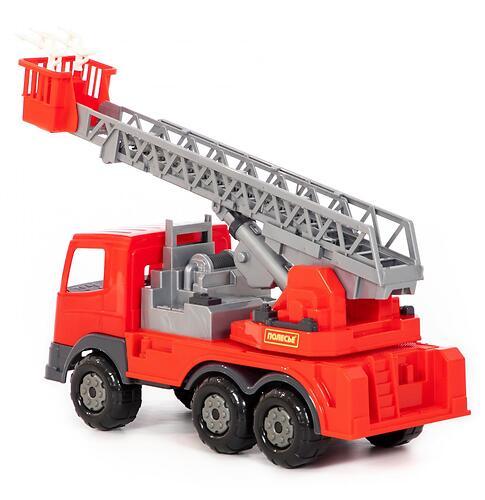 Автомобиль пожарный Полесье Престиж в коробке (6)