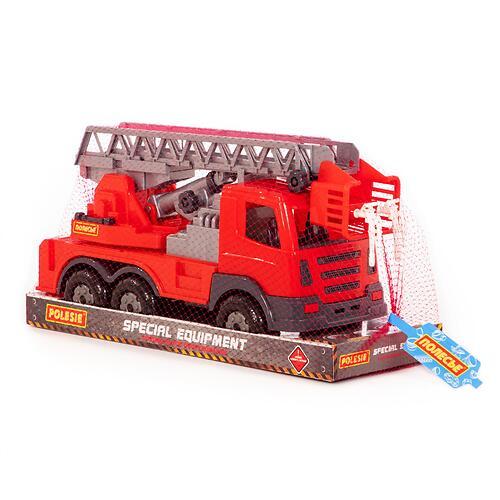 Автомобиль пожарный Полесье Престиж в лотке (8)