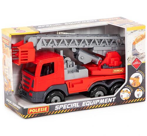 Автомобиль пожарный Полесье Престиж в коробке (4)