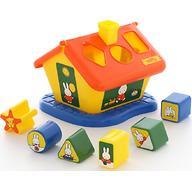 Логический домик Полесье Миффи с 6 кубиками №3