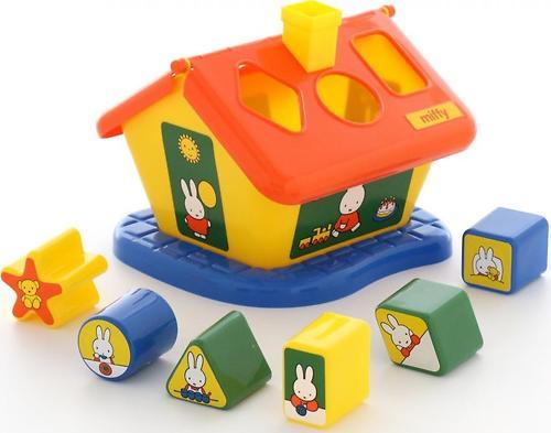Логический домик Полесье Миффи с 6 кубиками №3 (1)
