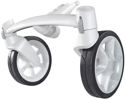 Колеса для коляски передние 2шт Quinny Moodd Front Fork White (1)