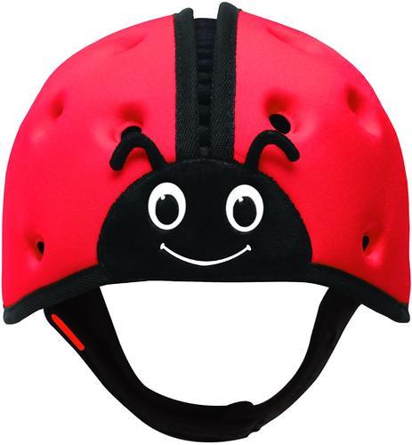 Мягкая шапка-шлем для защиты головы SafeheadBABY Божья коровка Красная (8)