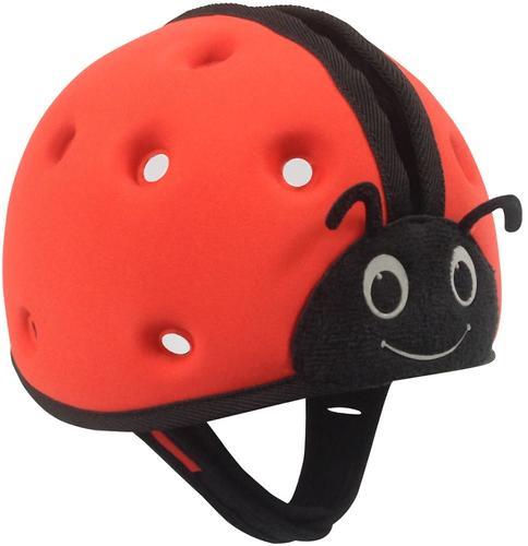 Мягкая шапка-шлем для защиты головы SafeheadBABY Божья коровка Синяя (9)
