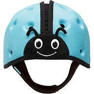 Мягкая шапка-шлем для защиты головы SafeheadBABY Божья коровка Синяя
