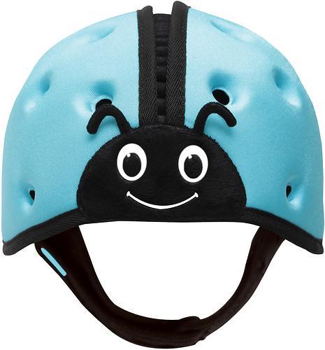 Мягкая шапка-шлем для защиты головы SafeheadBABY Божья коровка Синяя (8)
