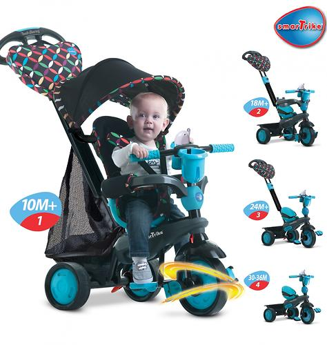 Велосипед Smart Trike Boutique 4в1 Blue (16)