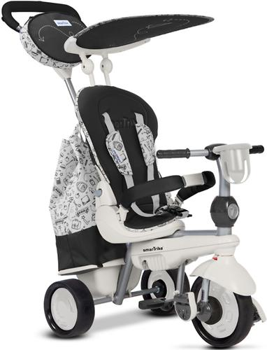 Велосипед Smart Trike 5в1 Dazzle/Splash Black White (6)