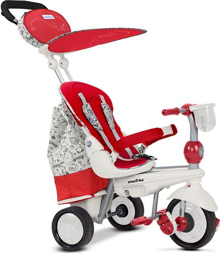Велосипед Smart Trike 5в1 Dazzle/Splash Red White (9)