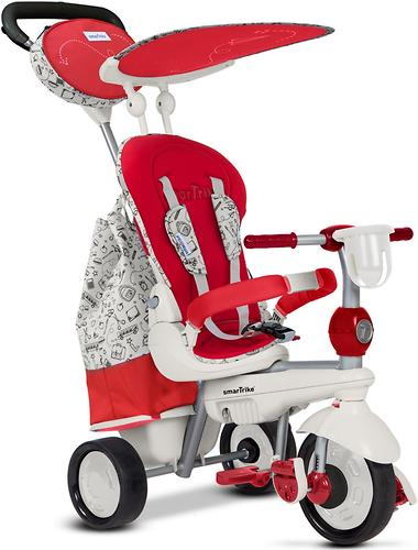 Велосипед Smart Trike 5в1 Dazzle/Splash Red White (8)