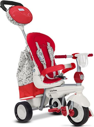 Велосипед Smart Trike 5в1 Dazzle/Splash Red White (10)