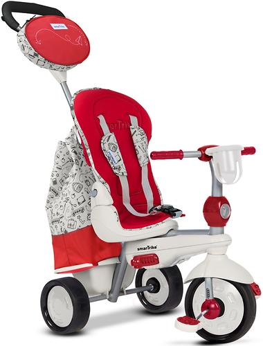 Велосипед Smart Trike 5в1 Dazzle/Splash Red White (11)